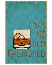 Call me old fashioned 11x17 Poster front