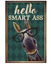 Hello smart ass 11x17 Poster front