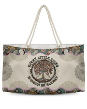 Every little thing Weekender Tote tile