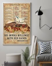 She works willingly 11x17 Poster lifestyle-poster-1
