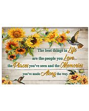 The best things in life 17x11 Poster front