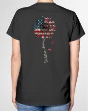 God bless America Independence day Ladies T-Shirt garment-tshirt-ladies-back-01
