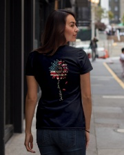 God bless America Independence day Ladies T-Shirt lifestyle-women-crewneck-back-1