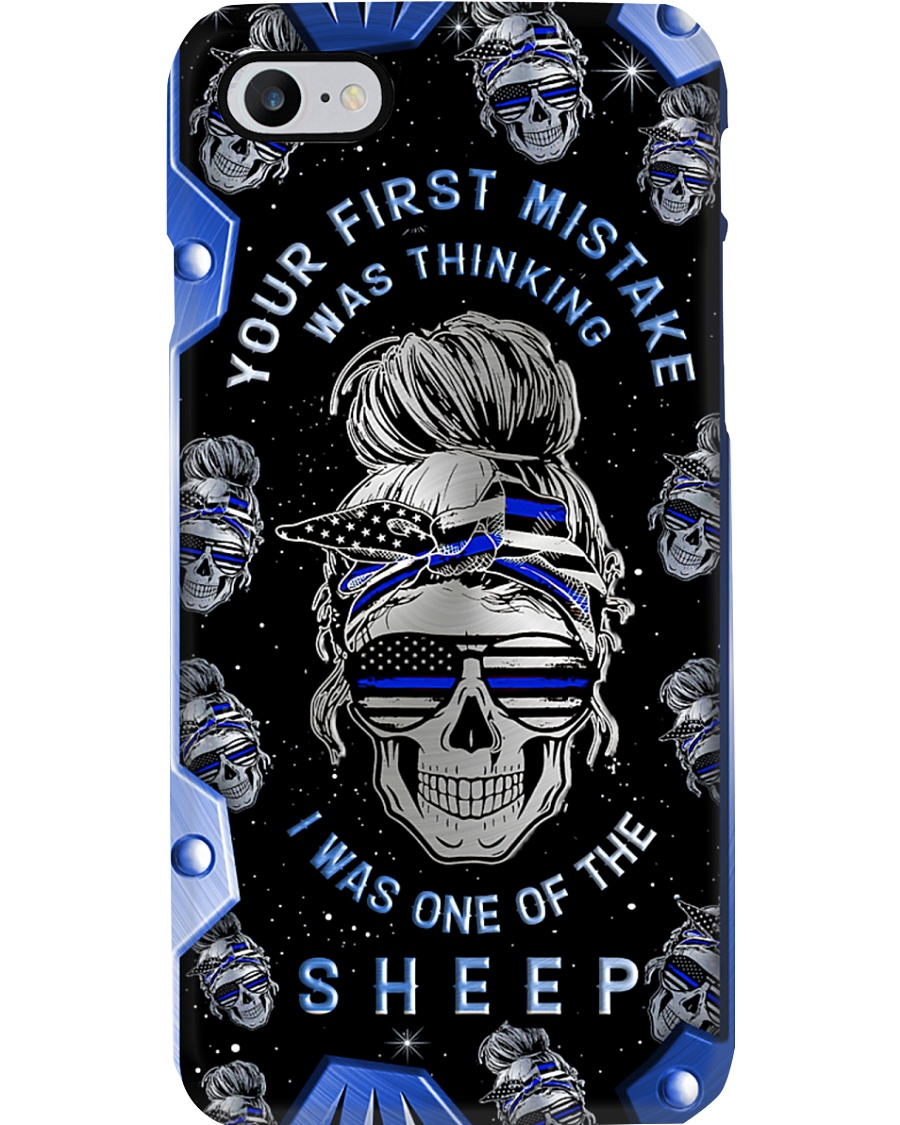 Your first mistake Metal Pattern Print Phone Case
