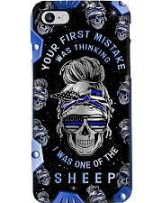 Your first mistake Metal Pattern Print Phone Case i-phone-7-case
