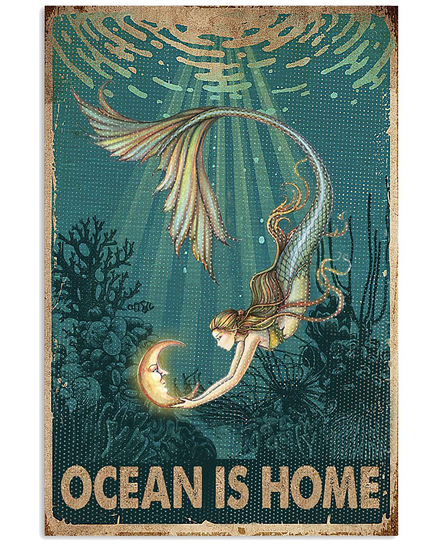 Ocean is home 11x17 Poster