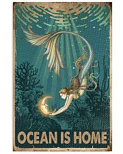 Ocean is home 11x17 Poster front
