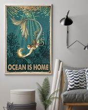 Ocean is home 11x17 Poster lifestyle-poster-1