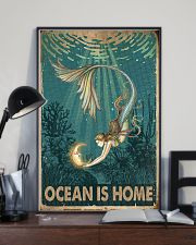 Ocean is home 11x17 Poster lifestyle-poster-2