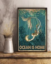 Ocean is home 11x17 Poster lifestyle-poster-3