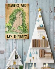 Plants Are My Therapy 11x17 Poster lifestyle-holiday-poster-2