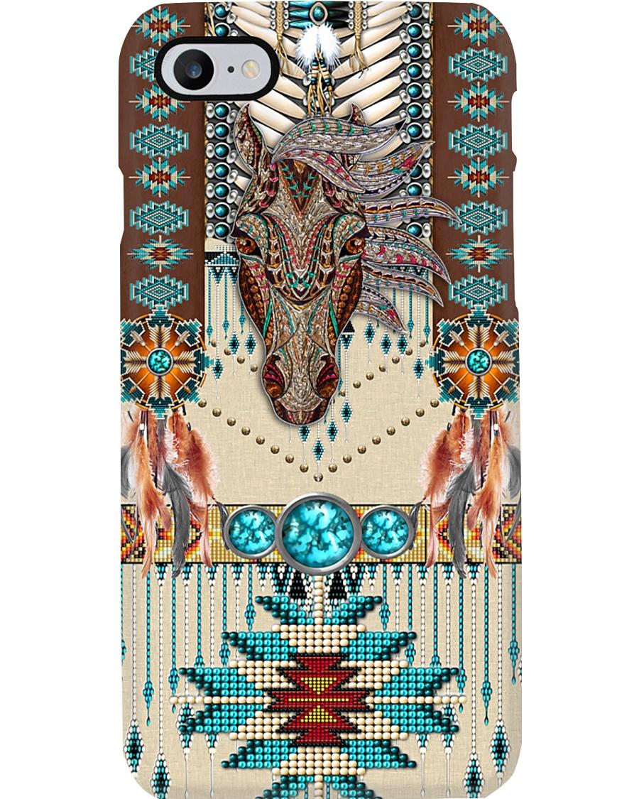 Tribal horse  Phone Case