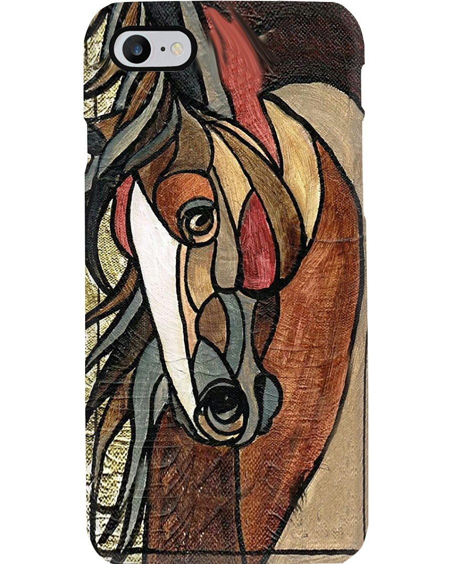 Colorful horse Phone Case