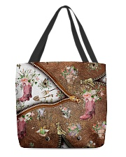 Gardening All-over Tote back