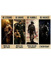 Be Strong 17x11 Poster front