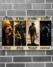 Be Strong 17x11 Poster poster-landscape-17x11-lifestyle-18