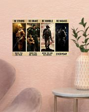 Be Strong 17x11 Poster poster-landscape-17x11-lifestyle-22