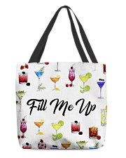 Fill me up All-Over Tote tile