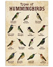 Hummingbird Knowledge 11x17 Poster front
