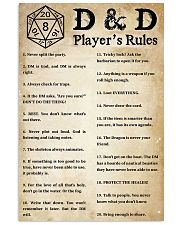 Rules of the game 11x17 Poster front