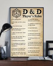 Rules of the game 11x17 Poster lifestyle-poster-2