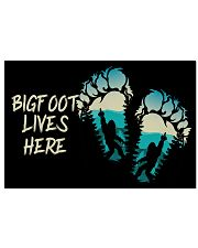 Bigfoot lives here 17x11 Poster thumbnail