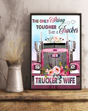 Trucker's wife  11x17 Poster lifestyle-poster-3