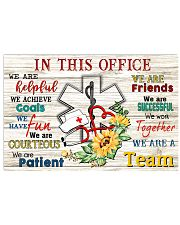 In this office 17x11 Poster front