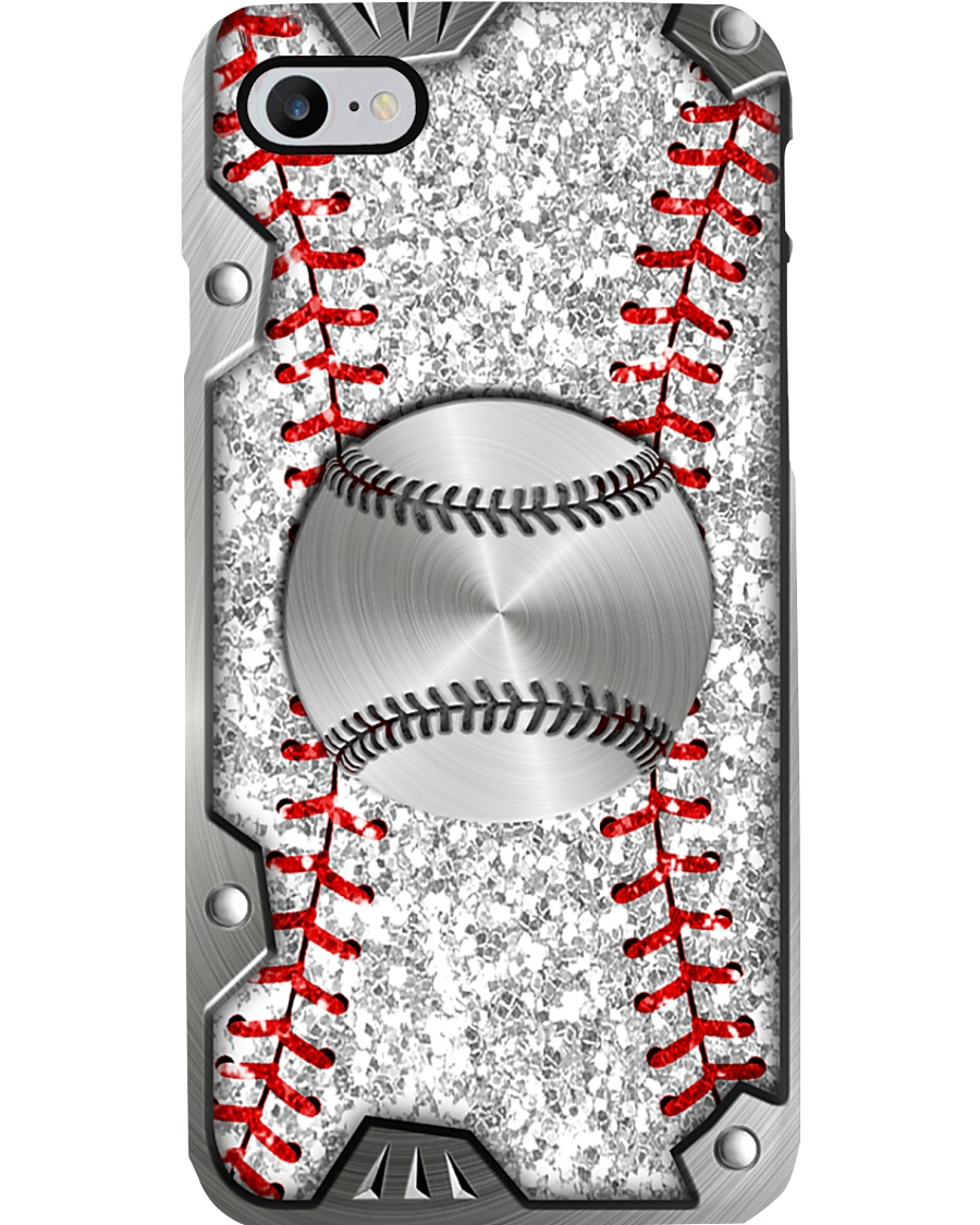 Baseball Sequin pattern print Phone Case