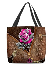 Fight like a girl All-over Tote back