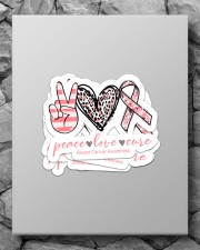 Peace love cure Sticker - 4 pack (Vertical) aos-sticker-4-pack-vertical-lifestyle-front-09
