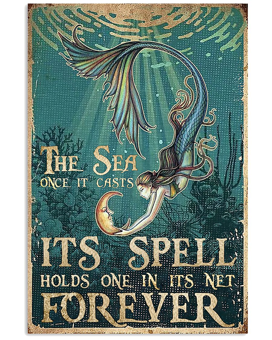 The sea once it casts 11x17 Poster
