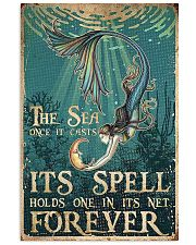 The sea once it casts 11x17 Poster front