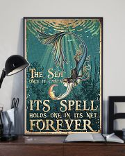 The sea once it casts 11x17 Poster lifestyle-poster-2