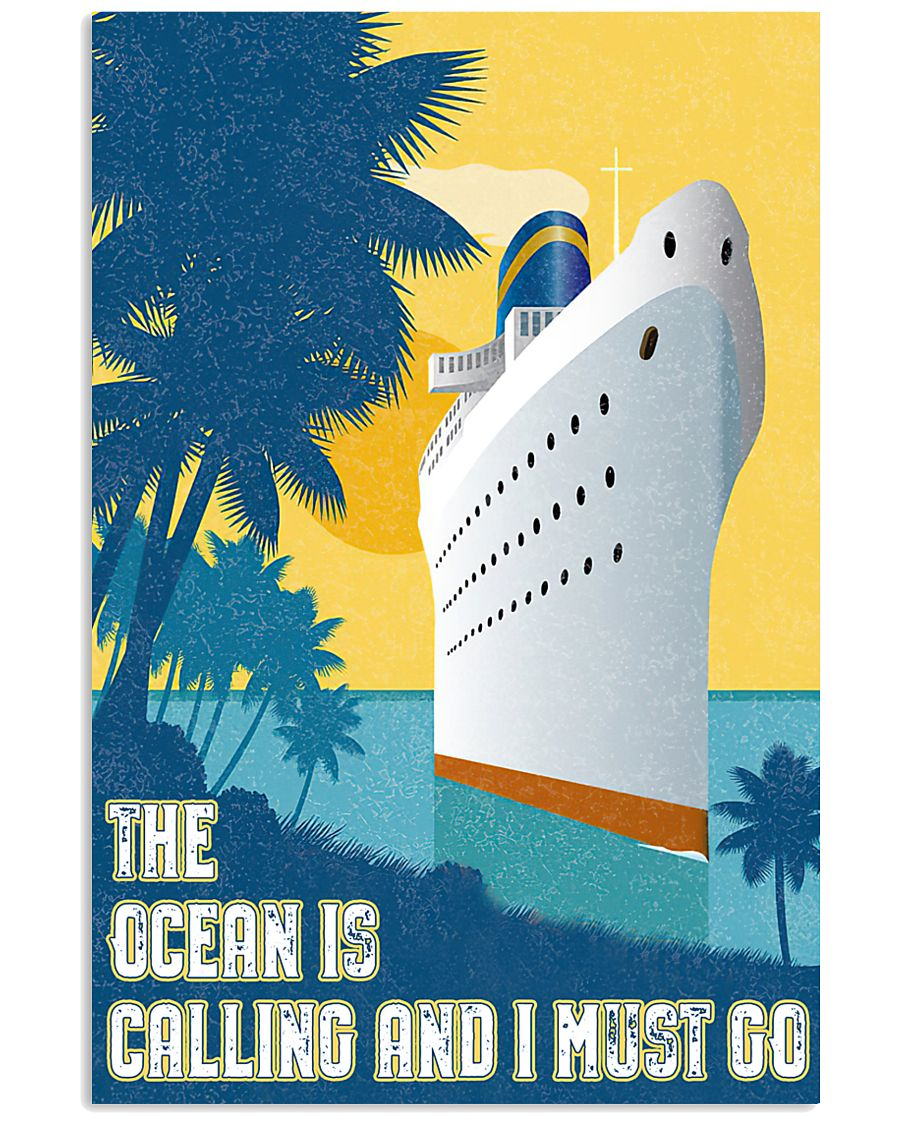 The ocean is calling 11x17 Poster