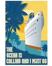 The ocean is calling 11x17 Poster front