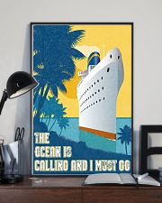 The ocean is calling 11x17 Poster lifestyle-poster-2
