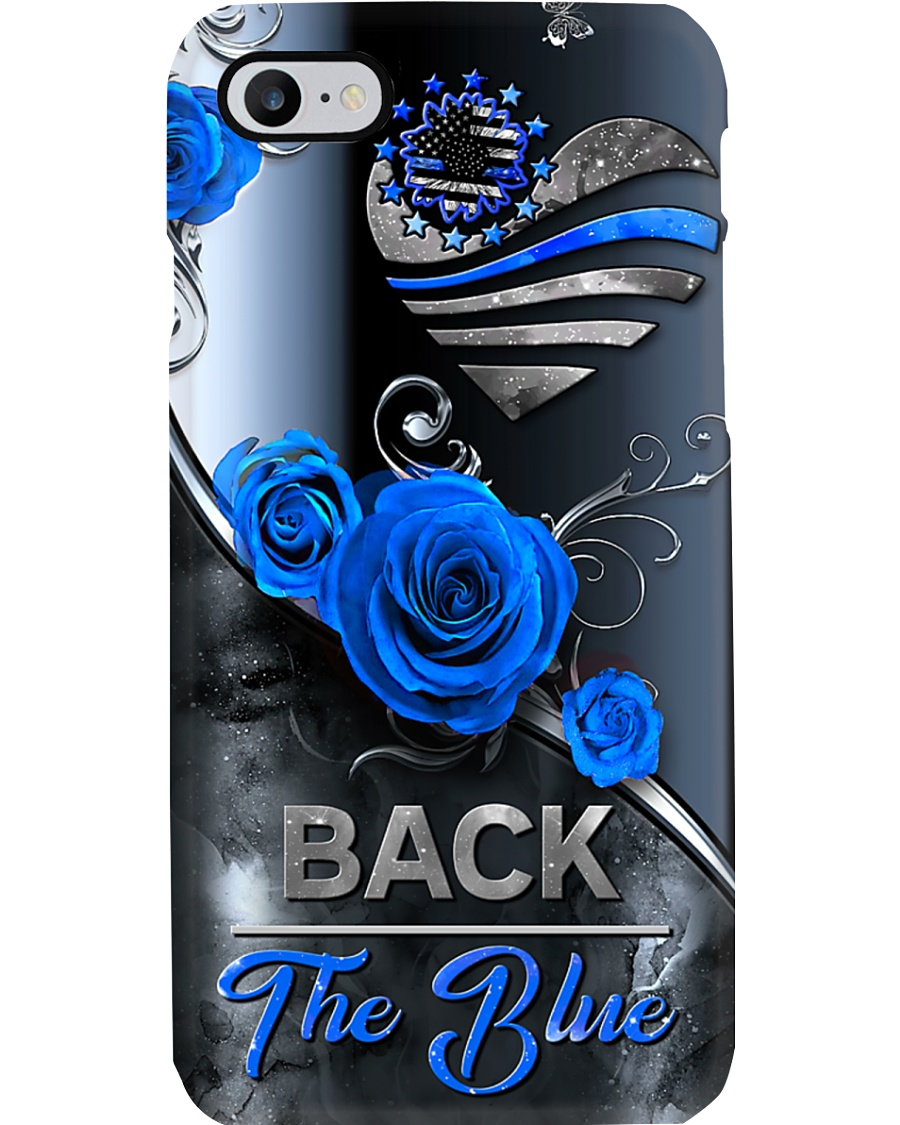 Back the blue Phone Case