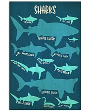 Types of Sharks 11x17 Poster front