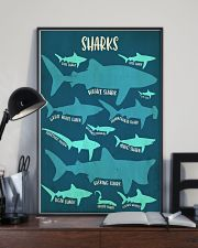 Types of Sharks 11x17 Poster lifestyle-poster-2