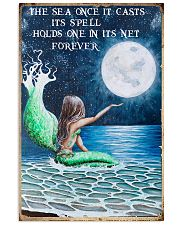 The sea once it casts its spell 11x17 Poster front