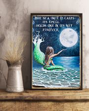 The sea once it casts its spell 11x17 Poster lifestyle-poster-3