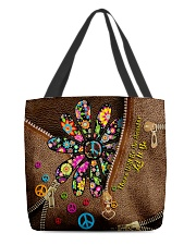There Will Be An Answer Leather Pattern Print All-over Tote front
