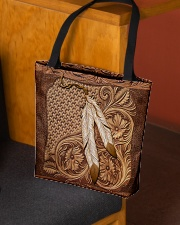 Native American India feather All-over Tote aos-all-over-tote-lifestyle-front-02