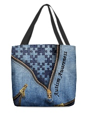 Autism tote All-over Tote back