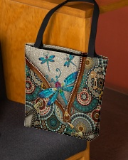 Dragonfly mandala All-over Tote aos-all-over-tote-lifestyle-front-02