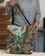 Dragonfly mandala All-over Tote aos-all-over-tote-lifestyle-front-10