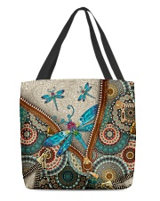Dragonfly mandala All-over Tote back