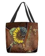 Here comes the sun All-over Tote back