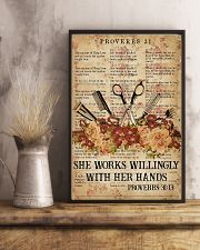 She works willingly 11x17 Poster lifestyle-poster-3